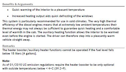 HZ5 aux heater, warm water with timer pg 2