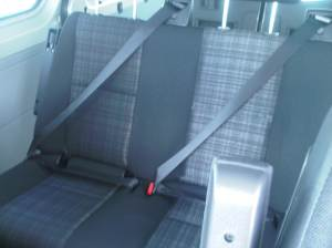 2014 cloth seat on crew van