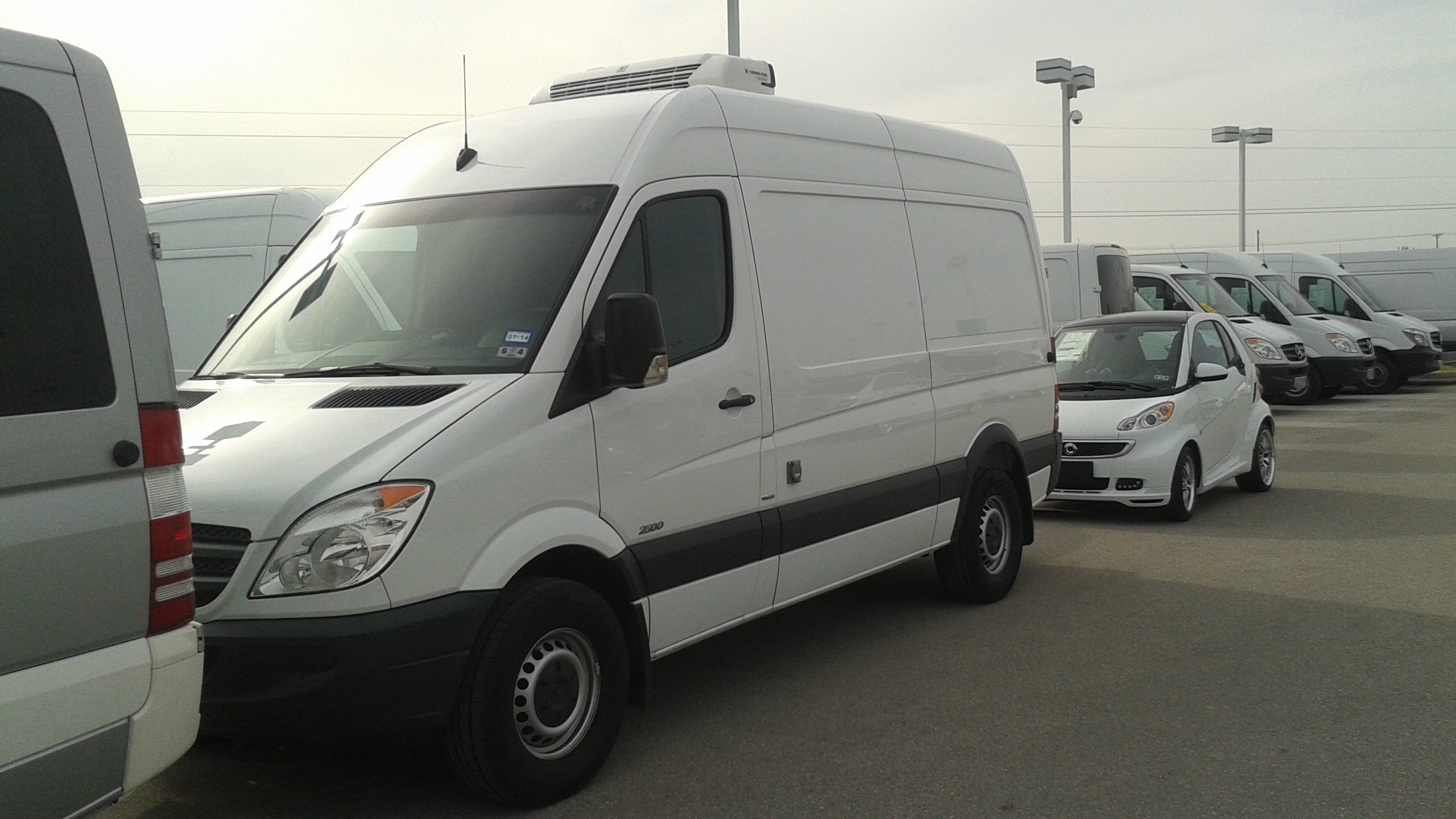 Just Arrived – 2012 Sprinter 144″ wb High Roof Cargo van
