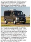 Motor Trend review of 2014 Sprinter van pg 1