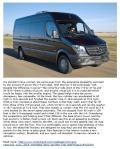 Motor Trend review of 2014 Sprinter van pg 2