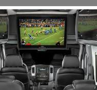 above driver big screen tv