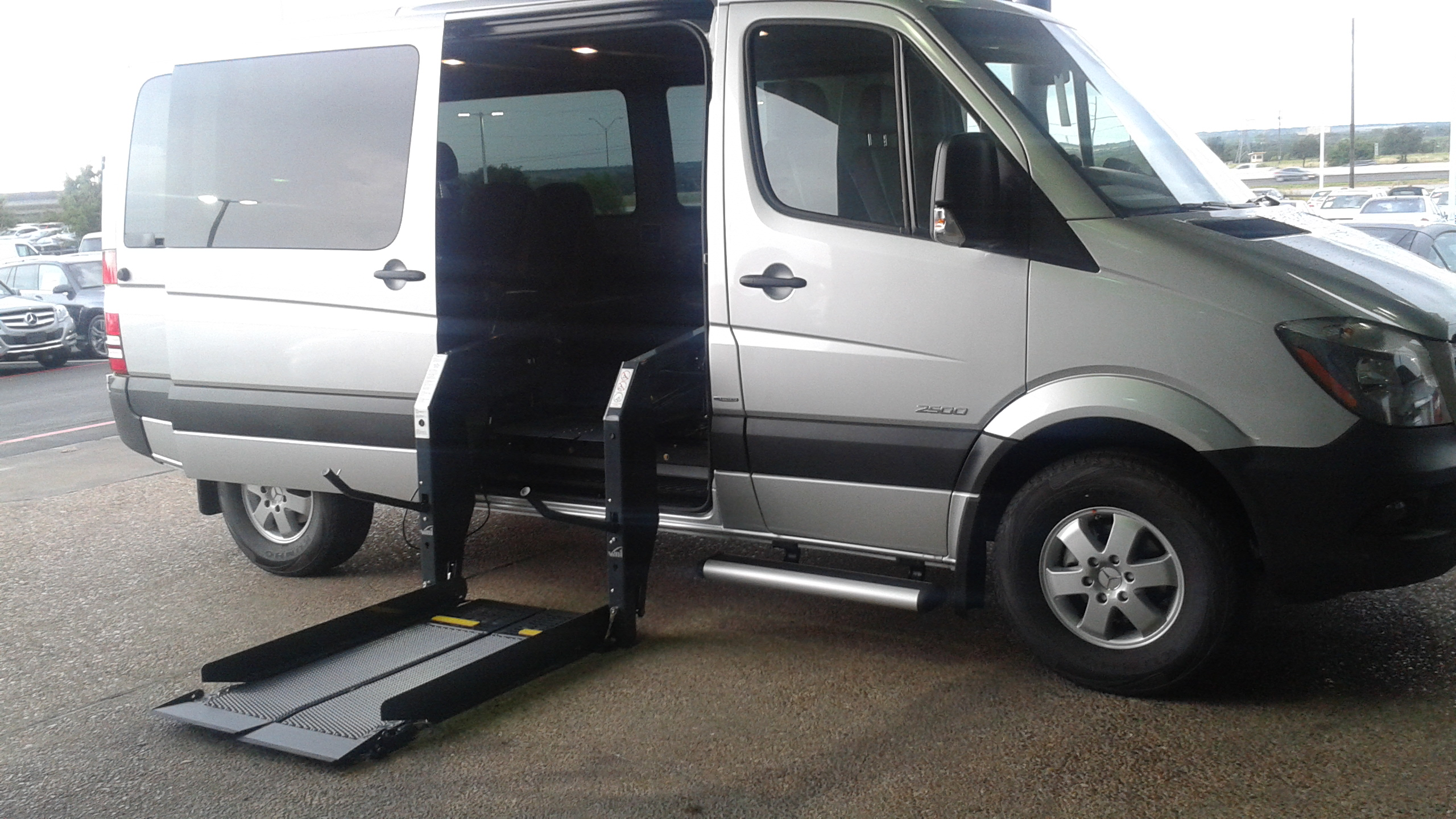Mobility Wheel Chair Accessible Sprinter Van Conversions