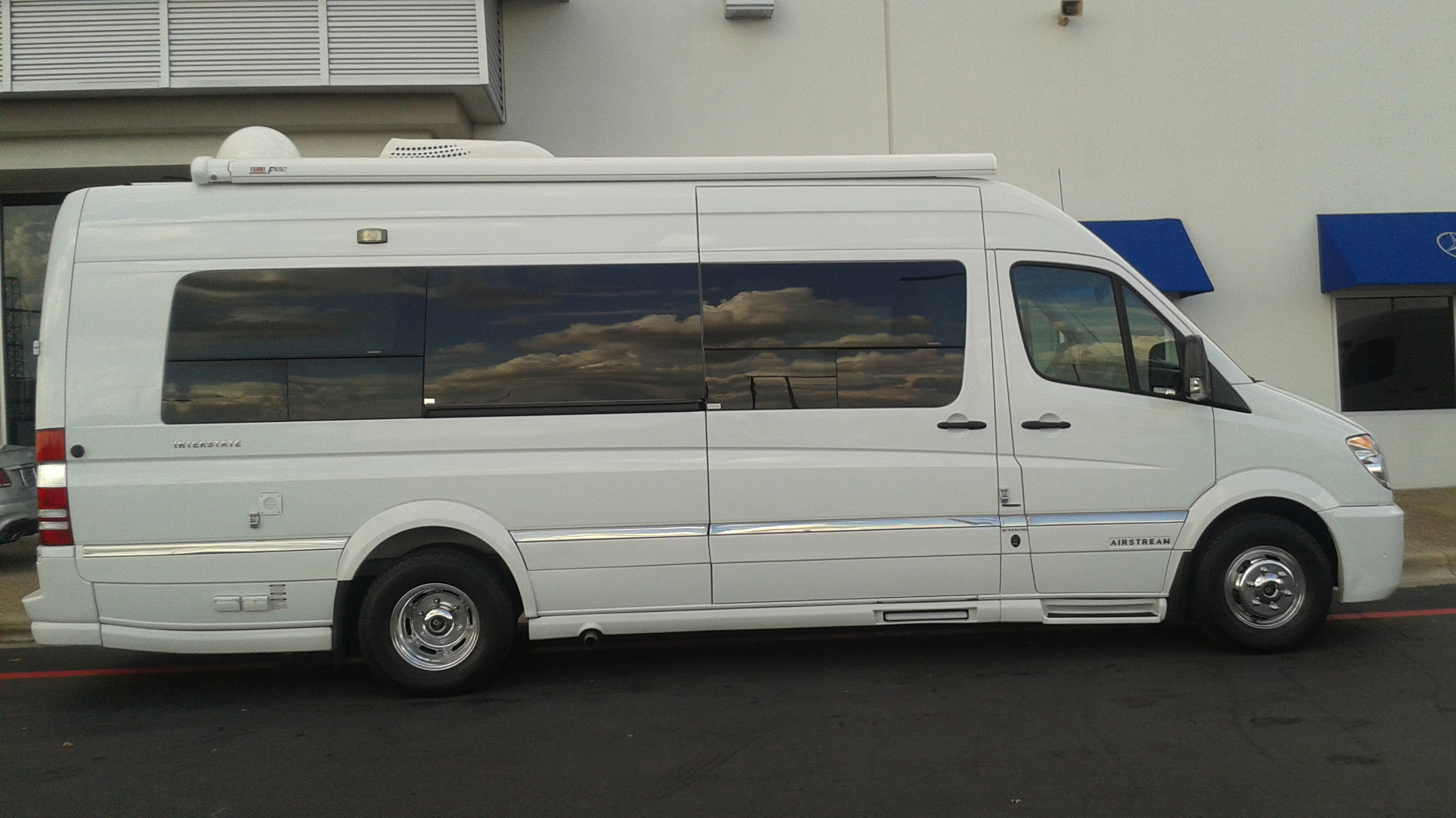 Mercedes interstate rv autos post for Mercedes benz sprinter conversion van for sale