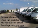 lots of vans for sale with tagline
