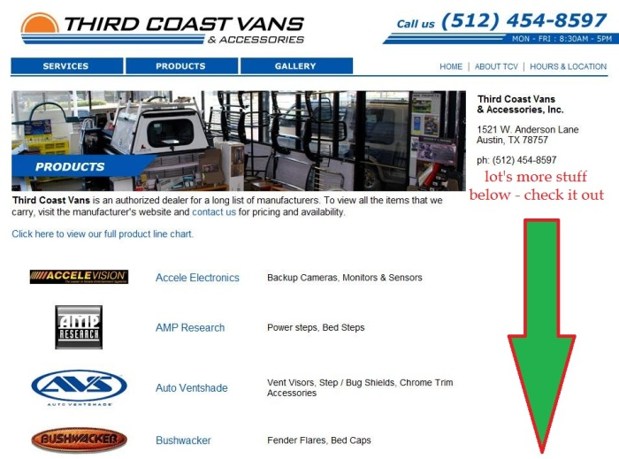 Third coast vans