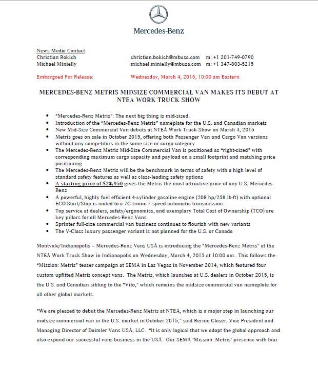 Metris announcement pg 1