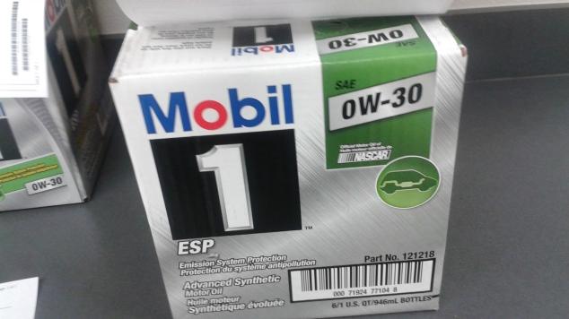 Mobile 1 ESP 0W-30 motor oil for Sprinter Diesel engines