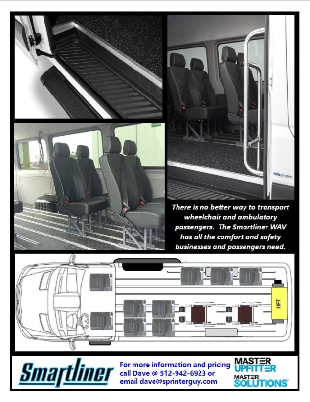 Smartliner Wheelchair Accessible Van pg 2