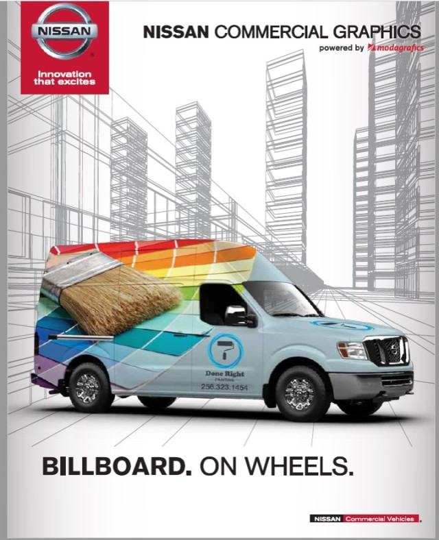 Nissan Commercial Graphics pic