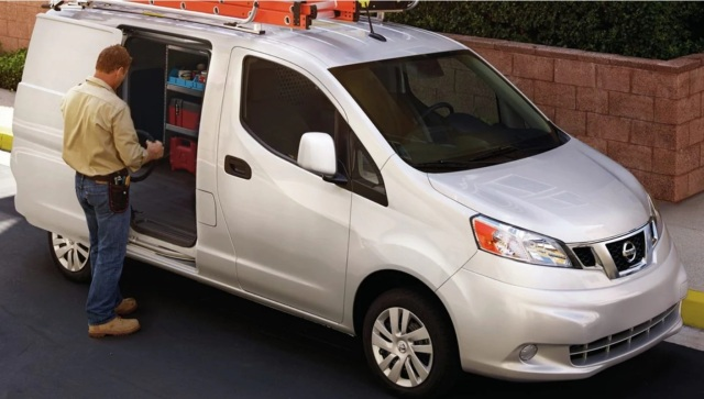nv200 SV silver work van