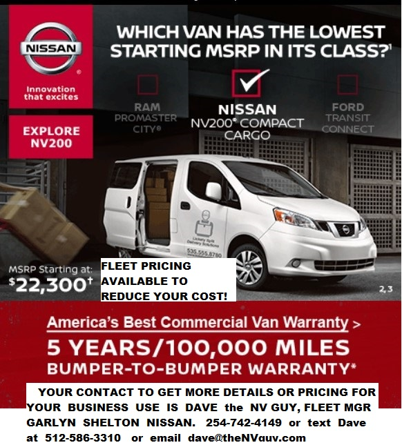 NV200 artwork for website
