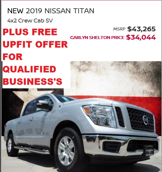 2019 TITAN DEC SALE